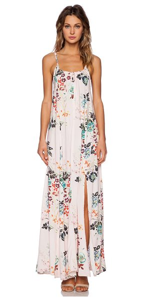 "Somedays Lovin Golden fields floral maxi dress in pink - Cotton blend. Neckline to hem measures approx 55"""" in..."