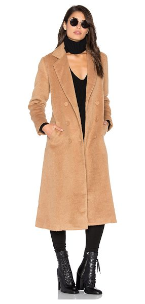 SOMEDAYS LOVIN Take Me In Trench in tan - Cotton blend. Dry clean only. Button front closures....