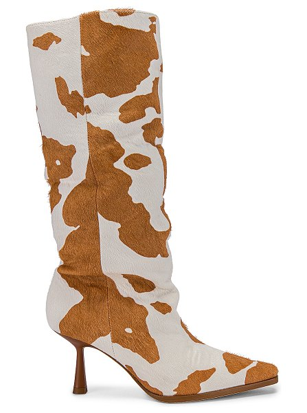 Song of Style bea boot in tan & white