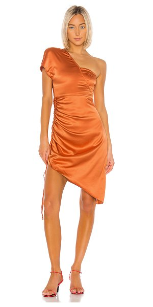 Song of Style graham midi dress in copper