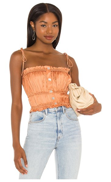 Song of Style layla cami in peach