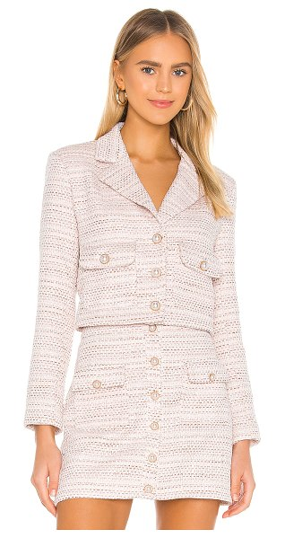 Song of Style sophia jacket in pink neapolitan