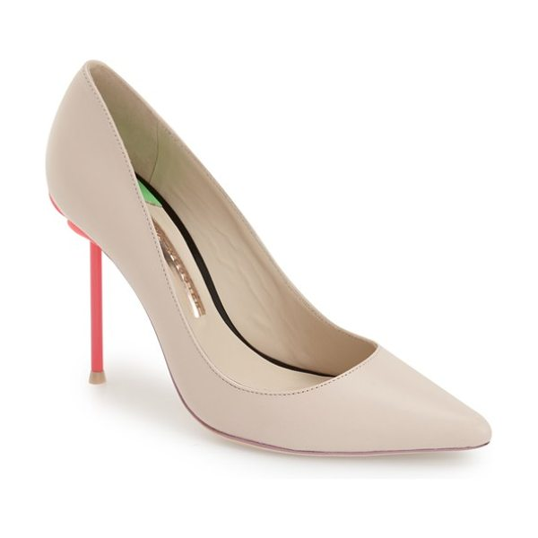SOPHIA WEBSTER coco pump - In lieu of her signature flamingo, Sophia Webster dials...