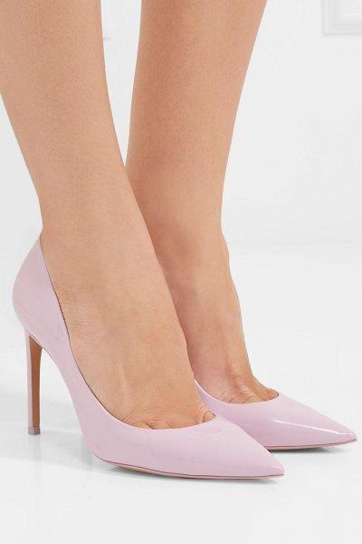 Sophia Webster rio patent-leather pumps in pink