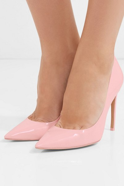 Sophia Webster rio patent-leather pumps in pink - EXCLUSIVE AT NET-A-PORTER.COM. Sophia Webster adds a...