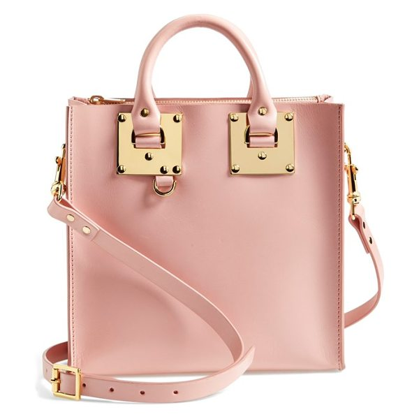 Sophie Hulme Albion square tote in pink -