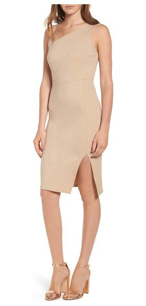 SOPRANO one-shoulder body-con dress - Classic and sophisticated, this one-shoulder dress is...