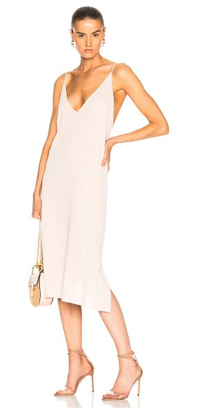 SOYER Piper Cami Dress in pink - 84% viscose 16% polyamide.  Made in China.  Dry clean...