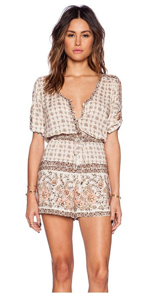 SPELL & THE GYPSY COLLECTIVE Desert rose playsuit - 100% rayon. Hand wash cold. Front button closures....