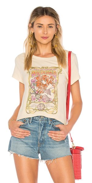 Spell & The Gypsy Collective Wild Child Tee in cream - 100% pima cotton. Hand wash cold. Screen print graphic....