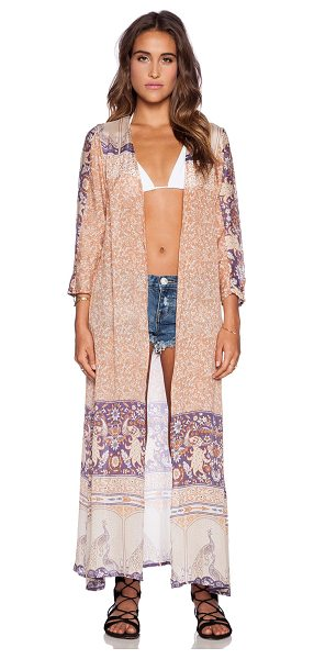 Spell & The Gypsy Collective Xanadu duster in cognac