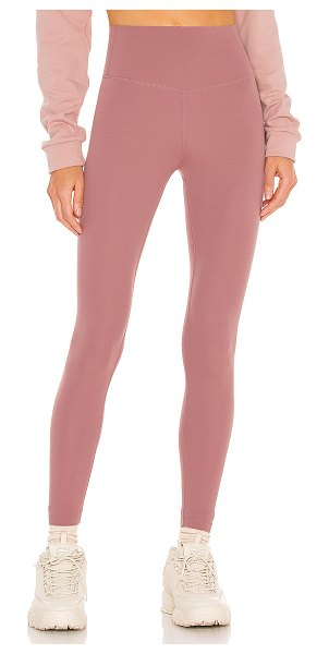 SPLITS59 airweight high waist 7/8 legging in blush