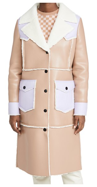 Stand Studio adele coat in taupe