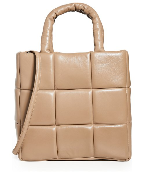 Stand Studio assante leather bag in sand