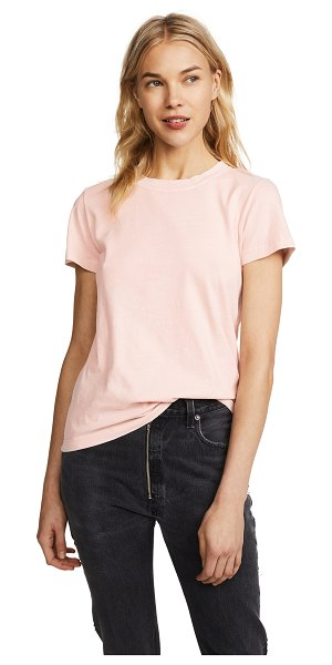 STATESIDE brushed jersey crew neck tee - Fabric: Jersey T-shirt style Waist-length style Crew neck...