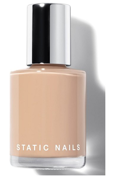 STATIC NAILS liquid glass nail lacquer in buff