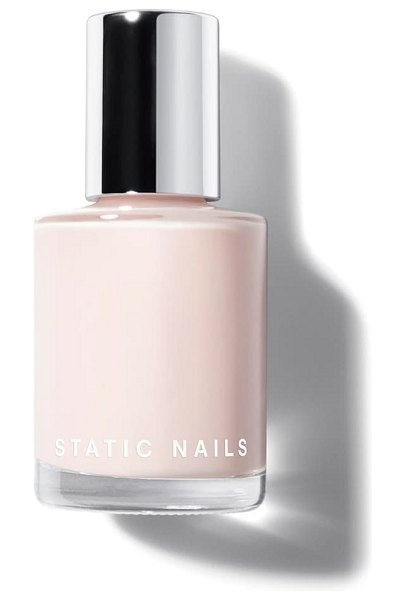STATIC NAILS liquid glass nail lacquer in ballerina
