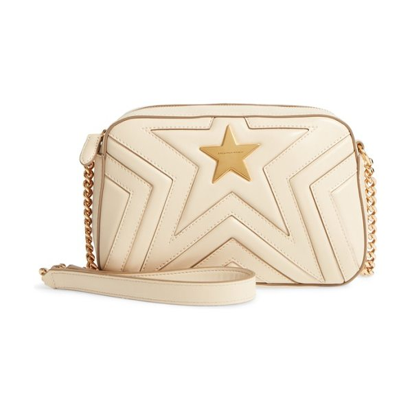 Stella McCartney alter nappa faux leather shoulder bag in cream
