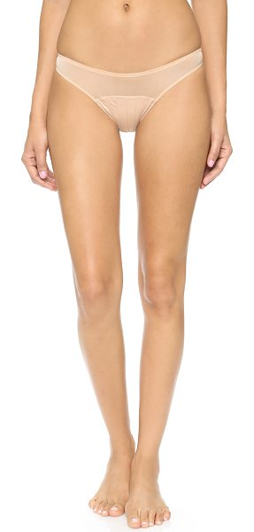 STELLA MCCARTNEY cherie sneezing bikini briefs - Delicate mesh Stella McCartney panties, detailed with a...