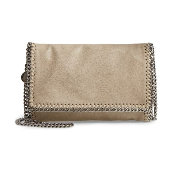 Stella McCartney 'falabella in stone - Gleaming chains trace the contours of a signature...