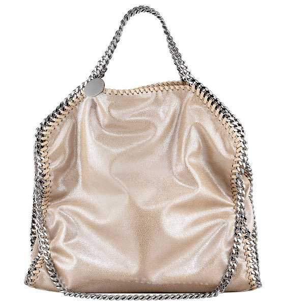 Stella McCartney Falabella Fold-Over Tote Bag in red wood (blush) - Stella McCartney tote bag in vegan-friendly faux leather...