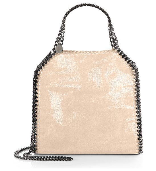 STELLA MCCARTNEY mini baby bella shoulder bag - A smaller version of the classic Falabella, all crafted...