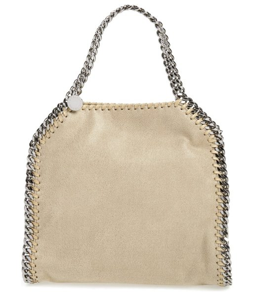 Stella McCartney 'mini falabella in stone - Impeccably crafted and impossibly versatile, this softly...