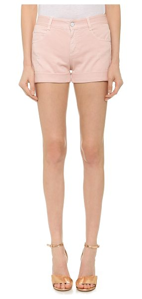 STELLA MCCARTNEY Skinny shorts - Fixed cuffs accentuate the casual feel of these...