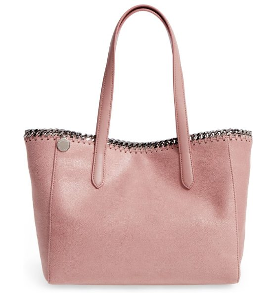 STELLA MCCARTNEY small falabella shaggy deer faux leather tote - A compact version of the Falabella tote is just as big...