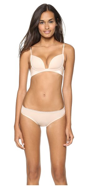 STELLA MCCARTNEY Smooth supernatural bra - A lightweight bra with molded cups and a smooth band....