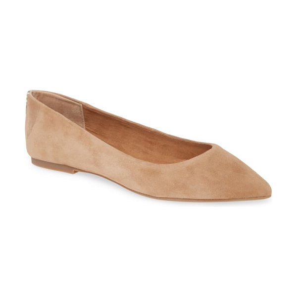 Steve Madden adley flat in brown