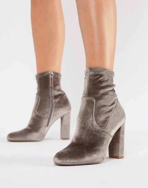 Steve Madden ankle boots in taupevelvet - Boots by Steve Madden, Sweet looks from the ground up,...