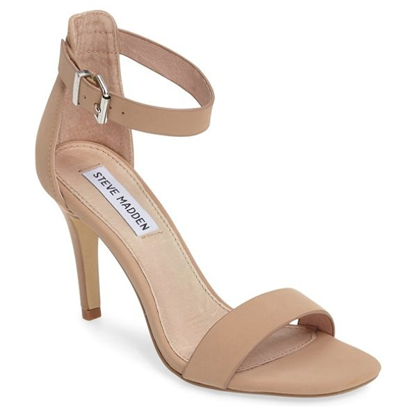 STEVE MADDEN bayyside square toe sandal - An open d'Orsay toe and a simple ankle strap detail a...