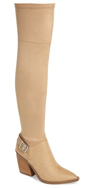 Steve Madden campana over the knee boot in brown