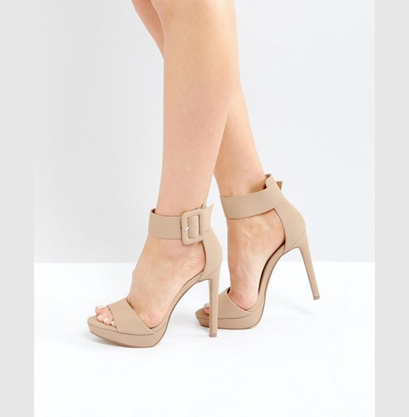 Steve Madden Coco Heeled Sandals in nude