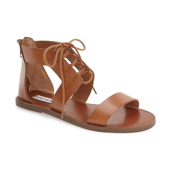 Steve Madden 'delgado' sandal in cognac leather