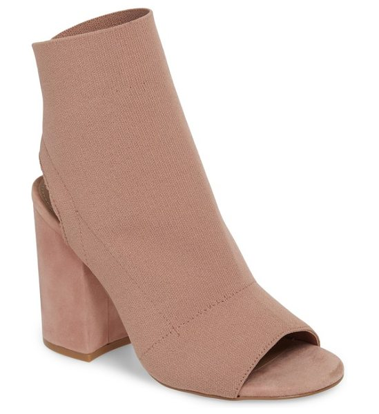 STEVE MADDEN ferris bootie - An open toe and heel add ample contemporary style to a...