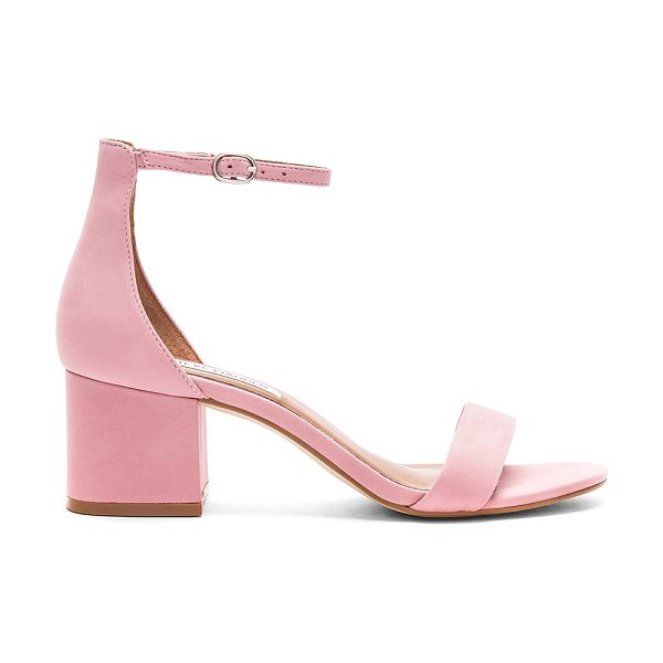 "Steve Madden Irenee Sandal in rose - ""Leather upper with man made sole. Ankle strap with..."