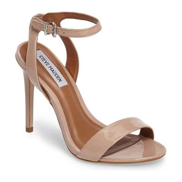 STEVE MADDEN landen ankle strap sandal - A slim ankle strap lends a dash of on-trend elegance to...