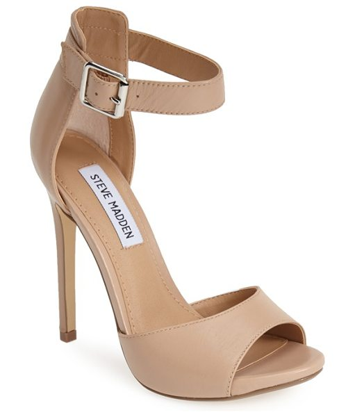 STEVE MADDEN mogull ankle strap sandal - A bold take on this summer's minimalist trend, this...