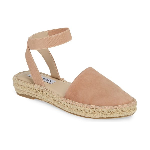 Steve Madden moment strappy espadrille sandal in brown