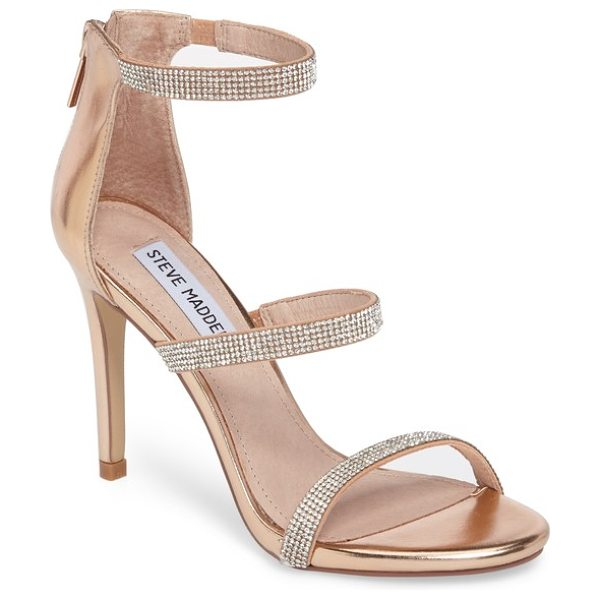 Steve Madden smokin sandal in rose gold - The name says it all-you'll feel smokin' hot in this...