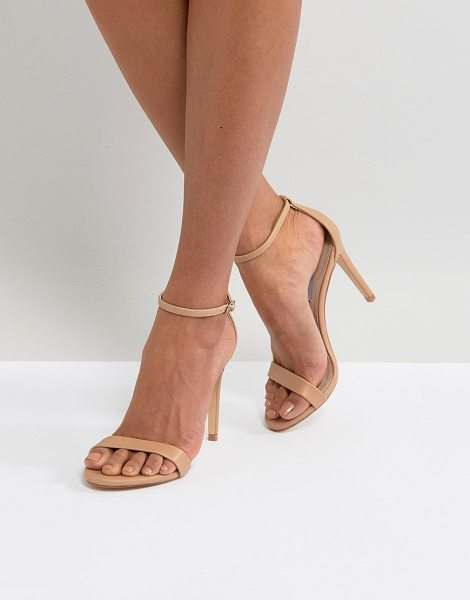 Steve Madden stecy barely there sandals in nude - Sandals by Steve Madden, Ankle-strap fastening, Open...