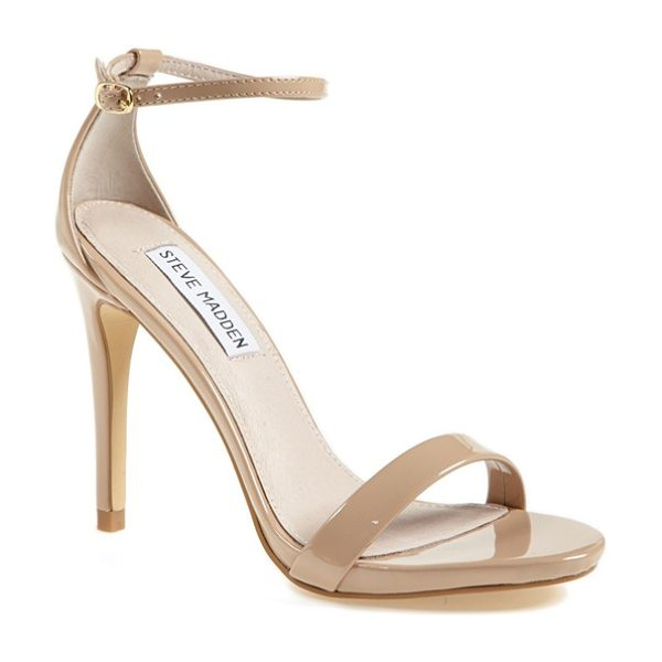 Steve Madden stecy sandal in blush patent