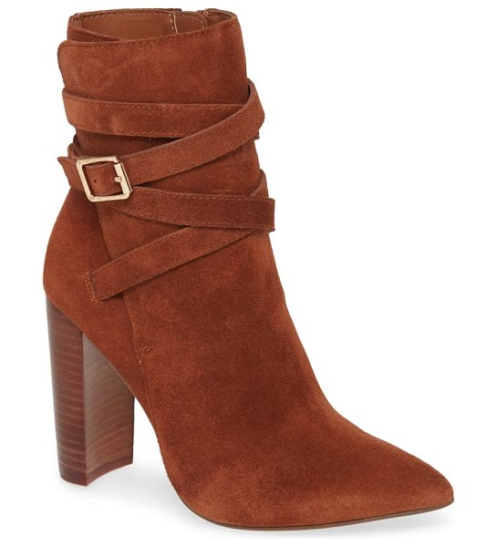 Steve Madden tristan bootie in brown