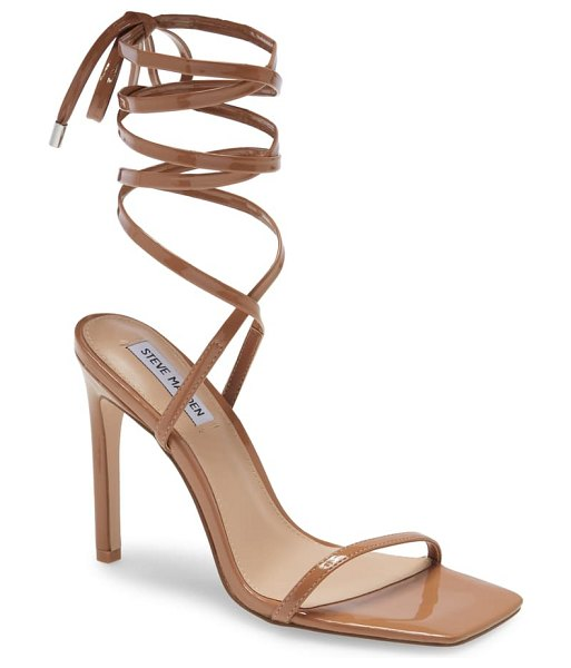 Steve Madden uplift lace-up sandal in brown