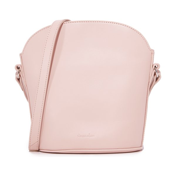 Steven Alan rhea cross body bag in blush - A petite Steven Alan cross-body bag in a structured...