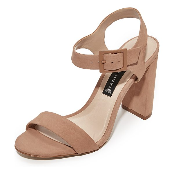 STEVEN eisla sandals - Versatile Steven sandals cut from smooth nubuck. Ankle...