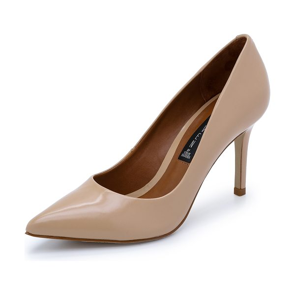 Steven Sheila pumps in nude - Ladylike Steven pumps in a classic pointed toe profile....