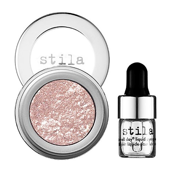 stila magnificent metals foil finish eye shadow metallic dusty rose - A one-of-a-kind, buildable, high-metallic cream eye...